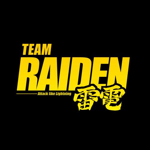 TEAM RAIDEN / 雷電 ロゴマーク