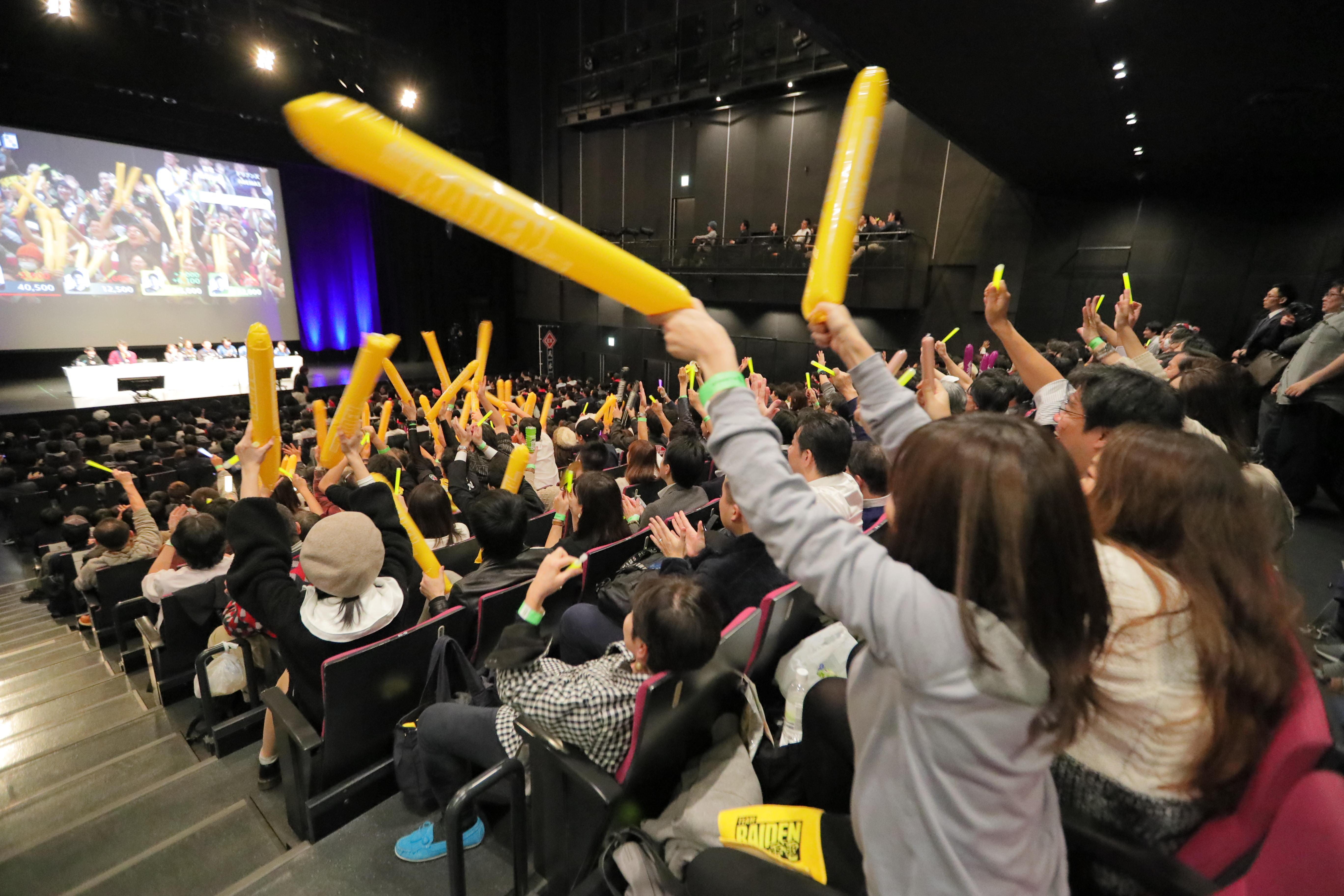 約900名の観客が大熱狂! 12月3日(火)初開催の「Mリーグ プレミアムナイト」